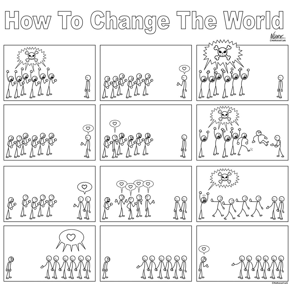 איך לשנות את העולם