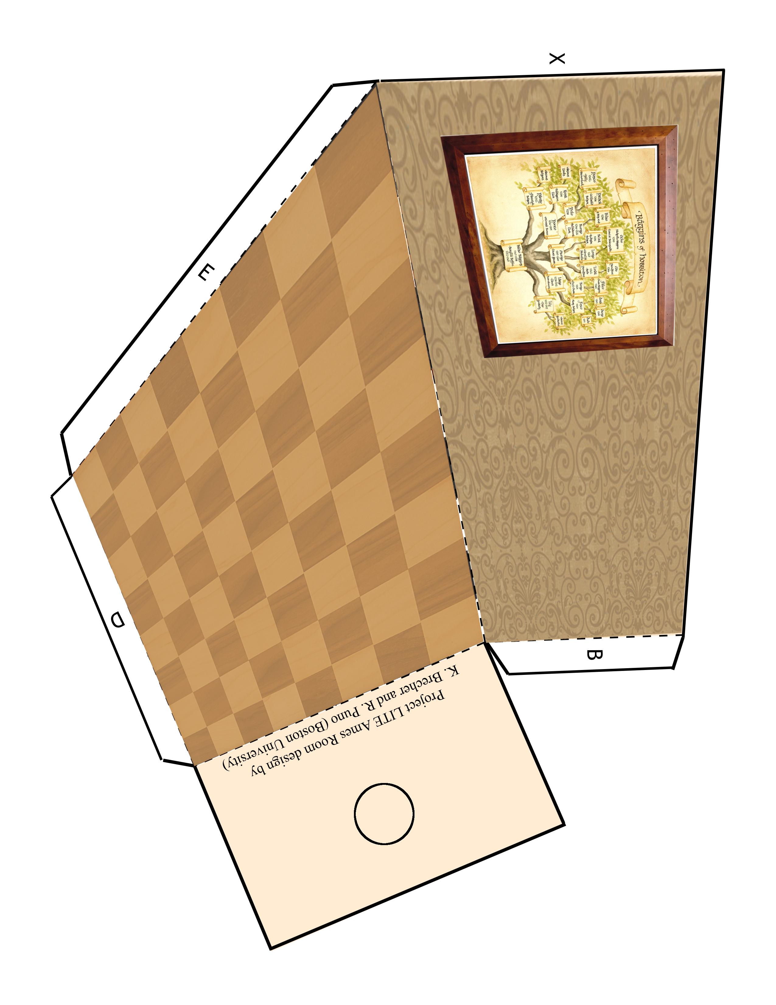 צד ימין של חדר איימס הוביטי